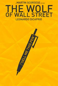 The Wolf of Wall Street - Pen by Felix Tindall