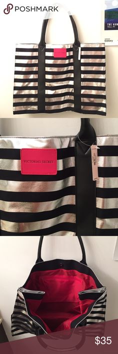 NWT Victoria's Secret tote Large tote brand new Victoria's Secret Bags Totes