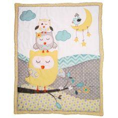 naptime owls comforter