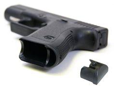 Gen 1-3 Grip Plug fits Medium & Large Frames Glock 17 19 20 21 22 23 24 25 31 32 34 35, by FixxxerComponents