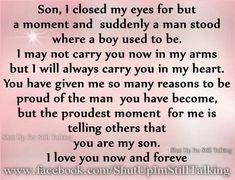 Discover and share Happy Birthday Son Quotes. Explore our collection of motivational and famous quotes by authors you know and love. Son Birthday Quotes, Sons Birthday, Birthday Wishes, Birthday Greetings, Birthday Images, Birthday Verses, Birthday Messages, Funny Birthday, Birthday Cards