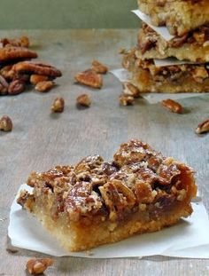 Life Tastes Good: The Best Pecan Pie Bars #Thanksgiving #Pecanpie #ThanksgivingHero