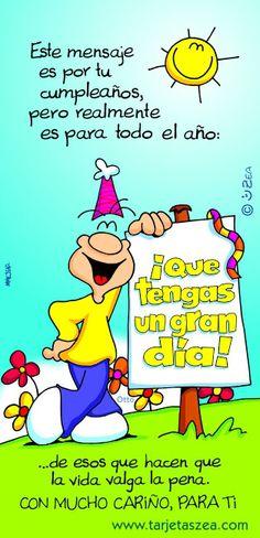 Photo http://enviarpostales.net/imagenes/photo-376/ felizcumple feliz cumple feliz cumpleaños felicidades hoy es tu dia