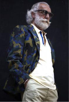 Hipster Santa.