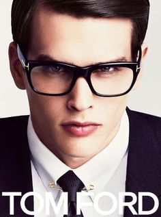 Simon Van Meervenne Appears in Tom Ford's Spring/Summer 2013 Eyewear Campaign