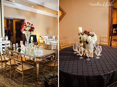 Woodland Fields Photography   The Cathedral Basilica of St. Augustine   Casa Monica   John Gandy Events   St. Augustine Wedding Photographer   Red and Black wedding decor red roses