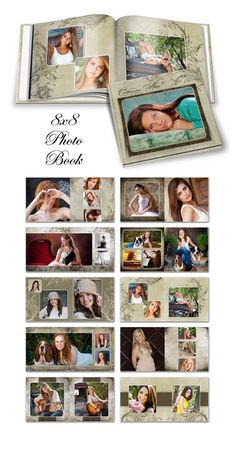 Catherine Alise 8x8 Photo Book design by Ashe Design for $24.99. Print at WHCC, Miller, Nations Photo Lab, Bay Photo or Black River Imaging. #photoshop #photographer #design