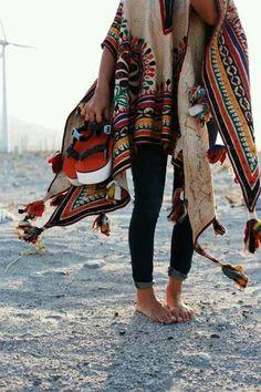 Poncho Heaven♥️ Boho Style, Gypsy Style