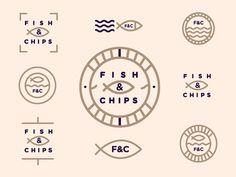 Fish & Chips // Logomark Exploration