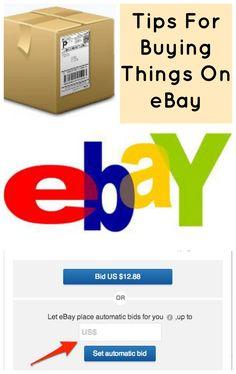 Tips For Buying Things On Ebay | http://savingthefamilymoney.com/tips-buying-things-ebay/