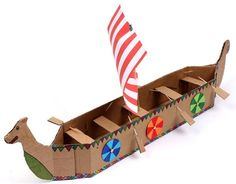 PAPERMAU: The Viking Longboat Papercraft Project For Kids - ...