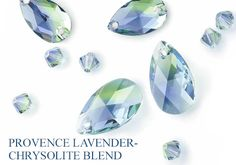 Autumn/Winter 2014/15 Innovations Pre-launch-new color blend, Provence Lavender-Chrysolite Blend...perfectly reflects the cool hues of a springy, season-changing sunset