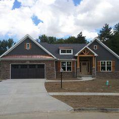 Craftsman Ranch Home Designs On Pinterest Craftsman Craftsman Style
