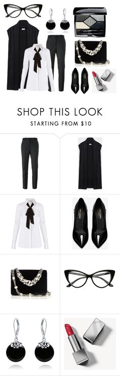 """Black and white for Lidi"" by helenkraft17 on Polyvore featuring мода, Givenchy, DKNY, Diane Von Furstenberg, Yves Saint Laurent, Miu Miu, Bling Jewelry, Burberry и Christian Dior"
