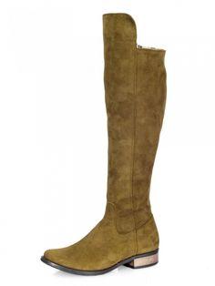 Čižmy nad kolená EMA 040 oliva Cowboy Boots, Riding Boots, Shoes, Fashion, Horse Riding Boots, Moda, Zapatos, Shoes Outlet, Fashion Styles