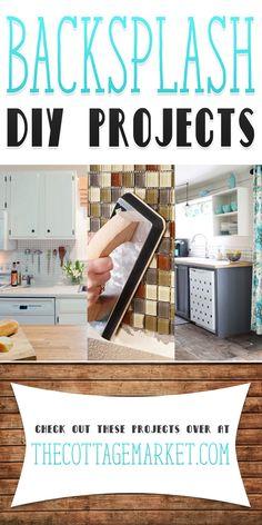 Backsplash DIY Projects - The Cottage Market