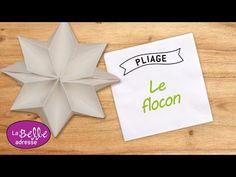 Pliage de serviette en papier en forme de papillon - LaBelleAdresse - YouTube