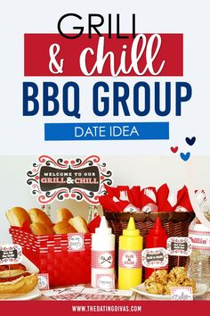 Free party printables for a 4th of July BBQ Group Dates, Grill N Chill, Patriotic Party, Family Traditions, Party Printables, Barbecue, 4th Of July, Grilling, Snack Recipes