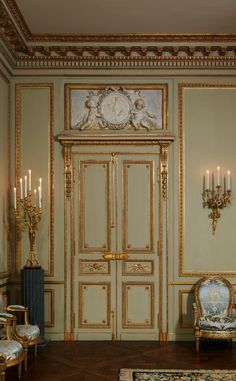 Grand Salon from the Hôtel de Tessé, Paris ~ now located in the Metropolitan Museum of Art NYC