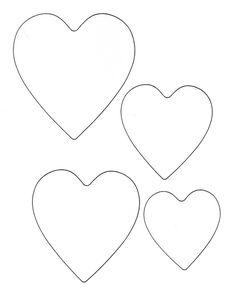 Modèle de coeurs                                                                                                                                                                                 Plus