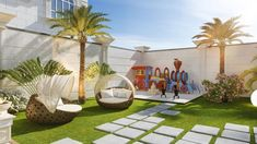Classic House Exterior, Dream House Exterior, Modern Exterior, Exterior Design, 3d Home Design, Home Interior Design, Landscape Design, Garden Design, Outdoor Paving