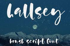 Hallsey - lowercase script font By geekmissy