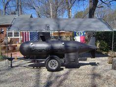 Submarine Smoker #Man #Cave #Garage #Grills