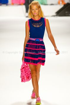 Mercedes-Benz New York Fashion Week Nanette Lapore Spring/Summer 2012