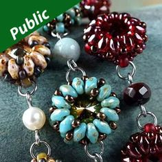 Bead smith.com Free Pattern - EXCLUSIVE BEAD STORE PROJECTS https://beadsmith.com/eprojects/miniduo.htm