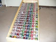 The Pop Can Solar Heater: An incredibly simple, safe, and affordable solar heating project that can be completed in a day after you have saved up the cans. You can also use corrugated aluminum siding. Free renewable energy!