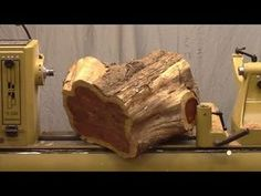 Lyle on Rough Turning a Bowl - YouTube
