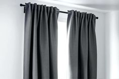 3 Fascinating Useful Tips: No Sew Curtains Pom Poms lace curtains privacy.Ikea C… Ikea Curtains, Diy Blackout Curtains, No Sew Curtains, Yellow Curtains, Boho Curtains, Curtains Living, Rustic Curtains, Velvet Curtains, Hanging Curtains