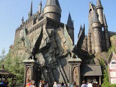 Hogwarts... Universal Studio, Florida  June 2011