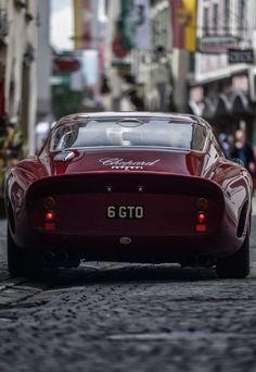 This Ferrari 250 GTO paint job is the same color as the Italian Rose I drank last night… 😉 Ferrari Berlinetta, so in love with him!Ferrari LaferrariMatte black Ferrari BerlinettaFerrari FXX K Lamborghini, Ferrari 458, Maserati, Ferrari 2017, Sexy Cars, Hot Cars, Automobile, F12 Berlinetta, Amazing Cars