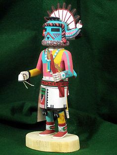 Hopi Kachina Doll - Supai Uncle Kachina - Rare & Beautiful