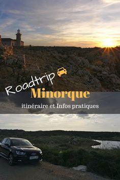 Espagne: Location de voiture dans les baléares pour partir à la découverte de Minorque en indépendant. #voyage #minorque #espagne