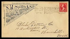 Vintage Envelopes from the early 18-1900s    http://vintagemeohmy.com/?p=138