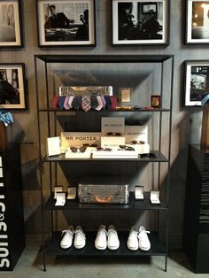 Mr. Porter NYC, pop up shop. Its a must for the J.