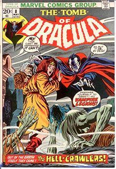 TOMB OF DRACULA 8 VG May 1973 COMICS BOOK @ niftywarehouse.com #NiftyWarehouse #Dracula #Vampires #ClassicHorrorMovies #Horror #Movies #Halloween #Vampire