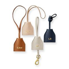 Daily Leather Tote Tag Mark and Graham Leather Tassel Keychain, Leather Jewelry, Leather Purses, Leather Totes, Leather Bags, Leather Backpacks, Diy Leather Accessories, Leather Key Holder, Pu Leather