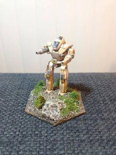 Custom mech sculpt 6mm scale
