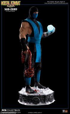 Pop Culture Shock Exclusive1/3 SUB ZERO Mortal Kombat Klassic Statue FULL Paid