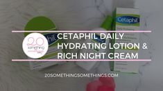 This is a Cetaphil review. Cetaphil, Hyaluronic Acid, Lotion, About Me Blog, Self, Personal Care, Content, Cream, Night