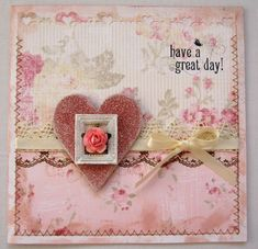 great card to give someone to brighten their day.  Be sure to include in the note how they have been an encouragement or an example to you.  Include a gift card for a grocery store, CVS, or a gas station along with your encouraging note.  Breast Cancer