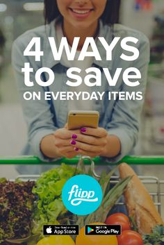 There are four ways to save with Flipp:  1. Browse for deals and savings across all your favorite retailers 2. Search for the right product, at the right price 3. Use coupons to save more on every day purchases 4. Add your shopping list items to find the best deals on what you want to buy