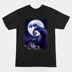 ====== Shirt for Sale ====== Princess Luna - The Nightmare Before Christmas My Little Pony tshirt by Kaiserin   ======================= #mlp #season5