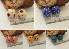 Art by Jen G: Handmade ceramic ROUND beads