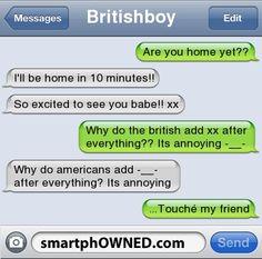 British people lol