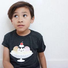 Kawaii Banana Split T-shirt