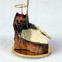 Yorkshire Terrier Christmas Ornament Angel: Nothing beats the exceptional look and quality of our… #PetProducts #PetGifts #AnimalJewelry
